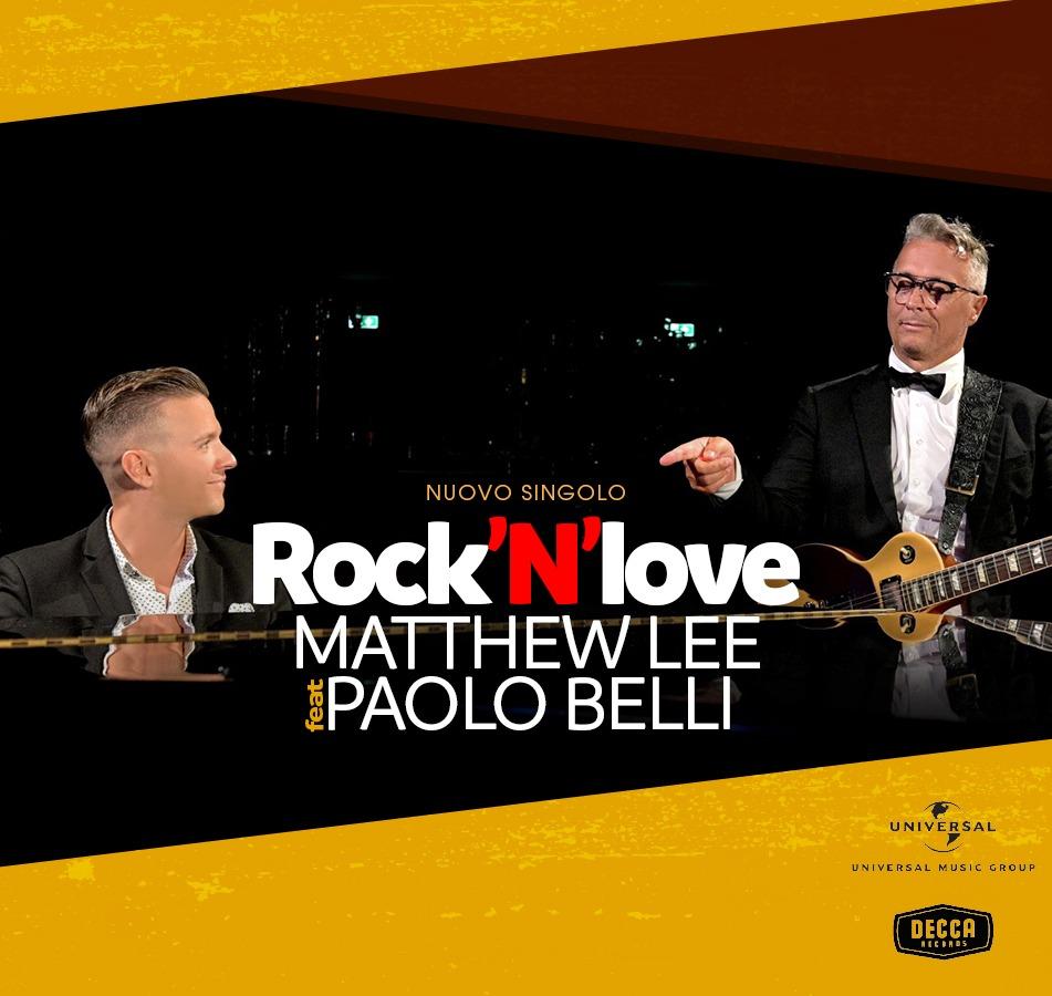ROCK'N'LOVE MATTHEW LEE feat. PAOLO BELLI